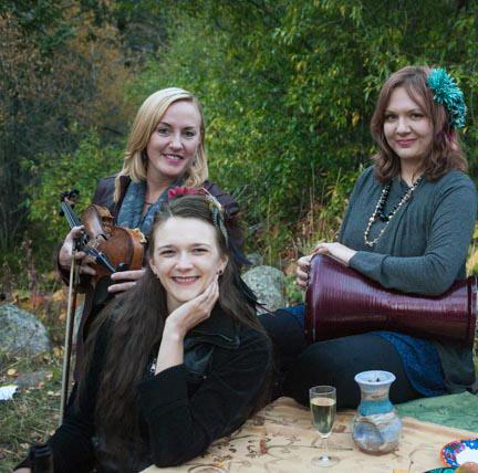 Rumelia Collective is Nicolle Jensen, Sitara Schauer and Alysha Shaw